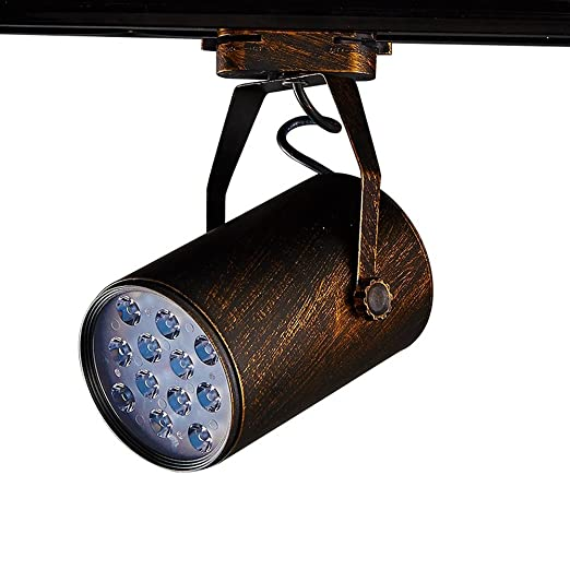 Led ceiling spotlights track lighting retro industrial wind clothing led ceiling spotlights track lighting retro industrial wind clothing store lighting nordic creative antique rail personality aloadofball Image collections