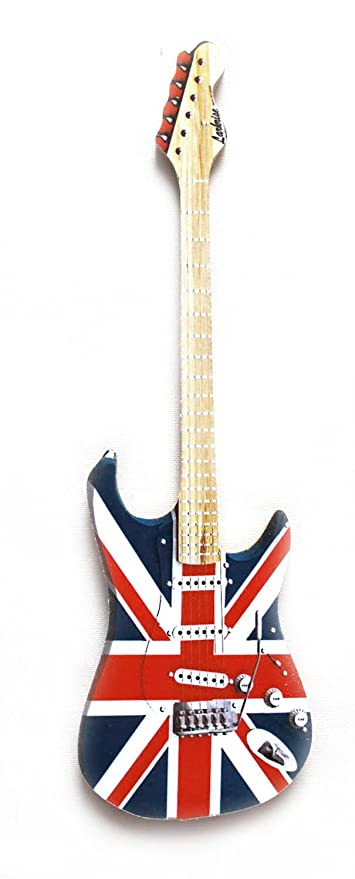 4 inch Union Jack Guitar Magnet Car Refrigerator FREE SHIPPING