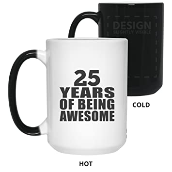 Birthday Gift Idea 25th 25 Years Of Being Awesome