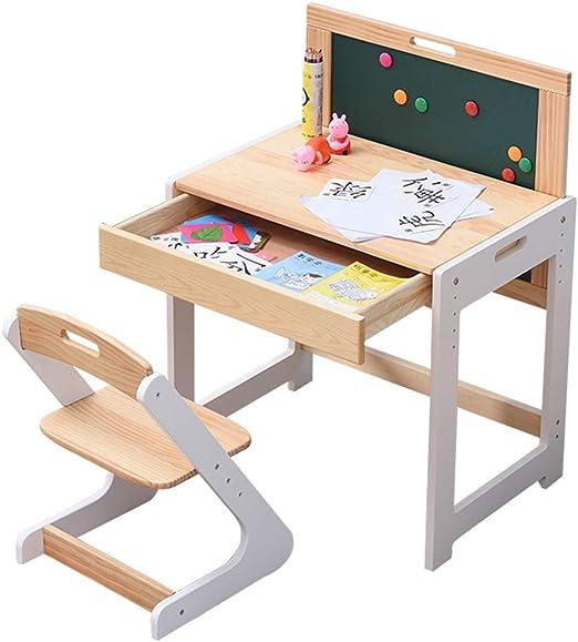 Juegos de mesas y sillas Mesa para Niños Elevadora De Madera ...