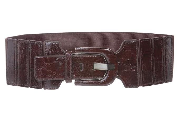 Vintage Wide Belts, Cinch Belts 3 Wide High Waist Fashion Stretch Belt $25.46 AT vintagedancer.com