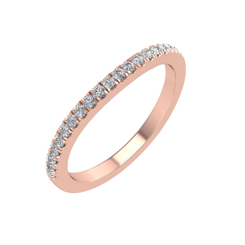 Diamond Delight IGI Certificado 10K Oro Diamante Aniversario Boda ...