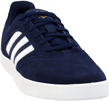 adidas Mens Suciu Adv Ii Lace Up Sneakers Shoes Casual - Blue