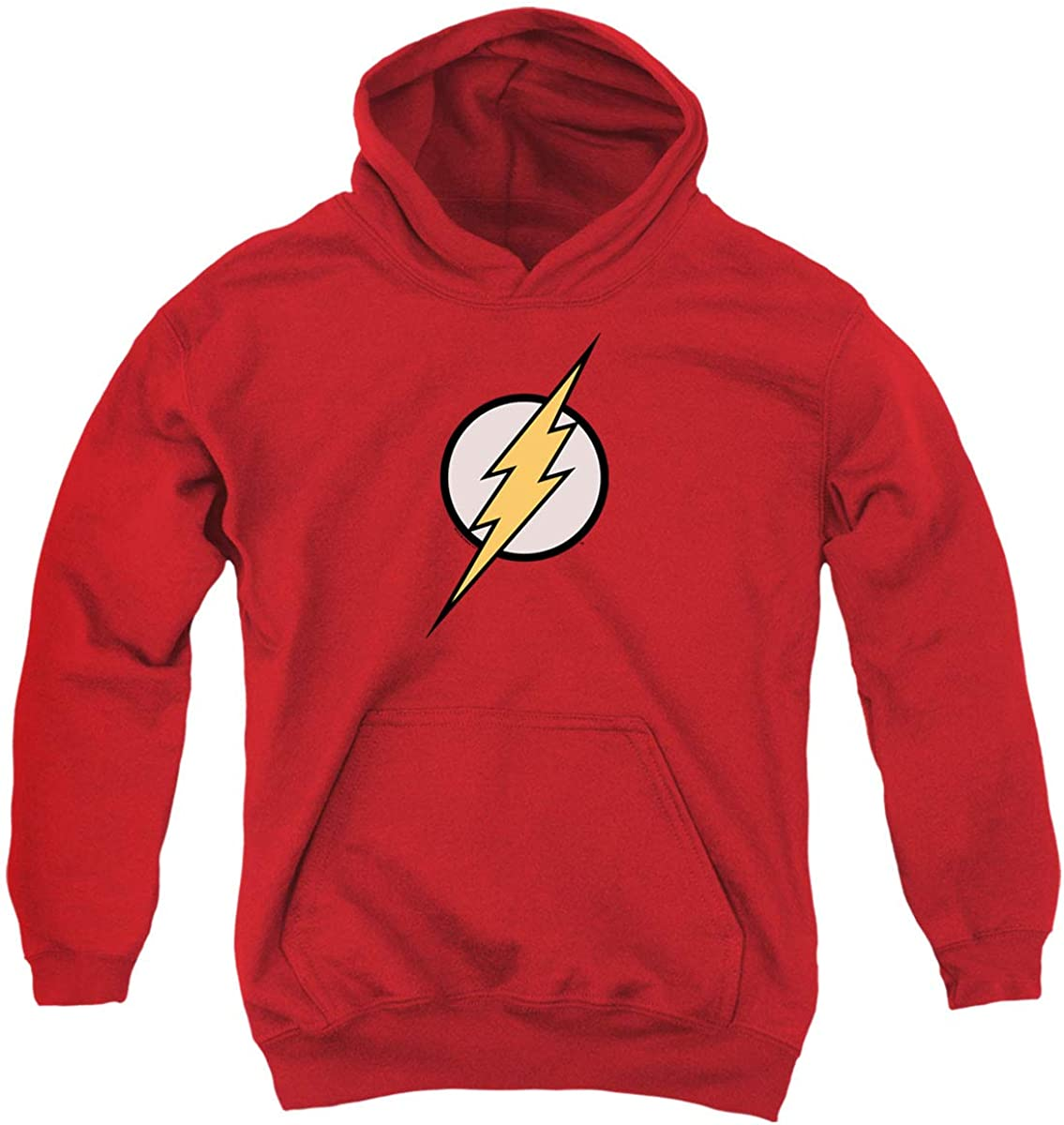 Youth Flash Lightning Bolt Logo T Shirt Kids Youth Pullover Hoodie & Stickers: Clothing