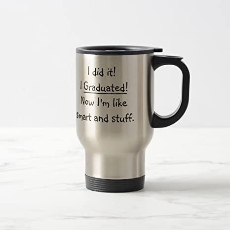 Amazon Com Zazzle I Graduated Smart Grad Funny Graduation Day