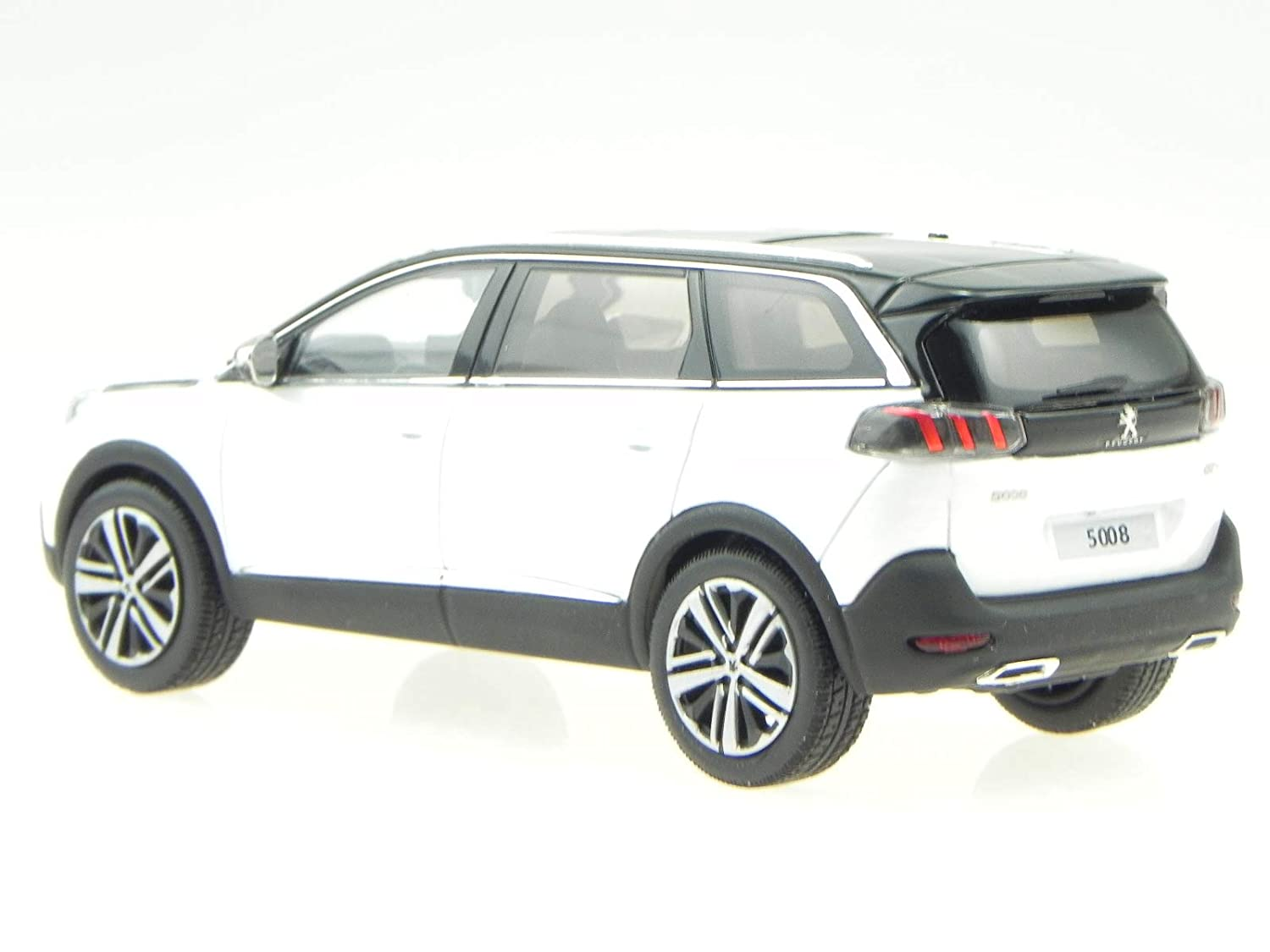 Norev Peugeot 5008 GT 2016 perl Weiss Modellauto 473887 1:43