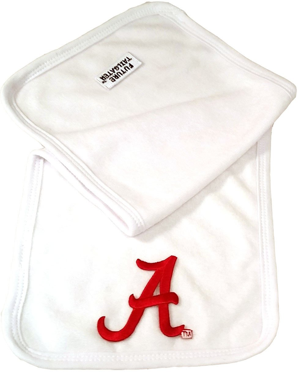 Future Tailgater Alabama Crimson Tide Baby 2 Ply Terry Burp Cloth