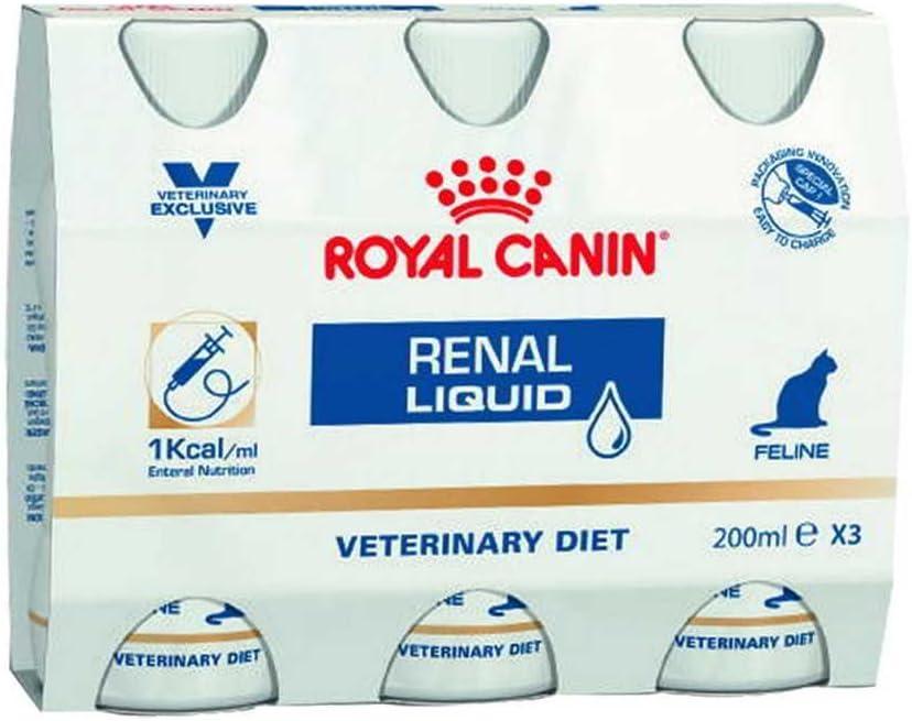Royal Canin Veterinary Diet Cat Renal Liquid 3 x 200 ml