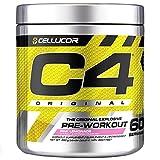Cellucor C4 Original Pre Workout Powder, Energy Drink Supplement with Creatine, Nitric Oxide & Beta Alanine, Pink Lemonade, 60 Servings