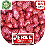 1 LB (16oz) ALL NATURAL GROWN ORGANICLLY Dried JUJUBE DATES,CHINESE DATES,US SELLER,Fresh and best quality guarantee,UNBEATABLE QUALITY AT THIS PRICE!! HAND SELECTED