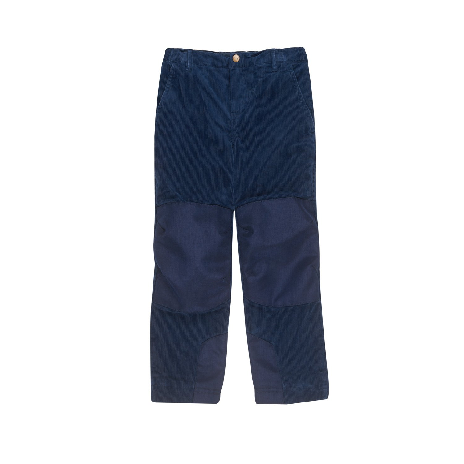 Finkid Kuukkeli denim navy Kinder Outdoor Kord Winterhose