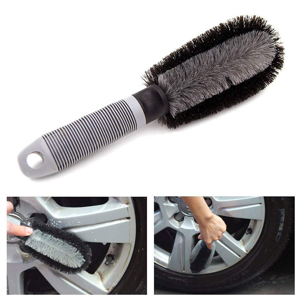 Liyao 3 St/ücke Autowaschwerkzeug T Wort Reifenb/ürste Auto Pinsel Radb/ürste Reifen Reinigungsb/ürste