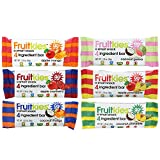 quest bars 36 - Fruitkies 36 Snack Bars Variety Pack, Gluten Free, Vegan, Dairy Free Kosher. (6 Flavors, Value Pack)