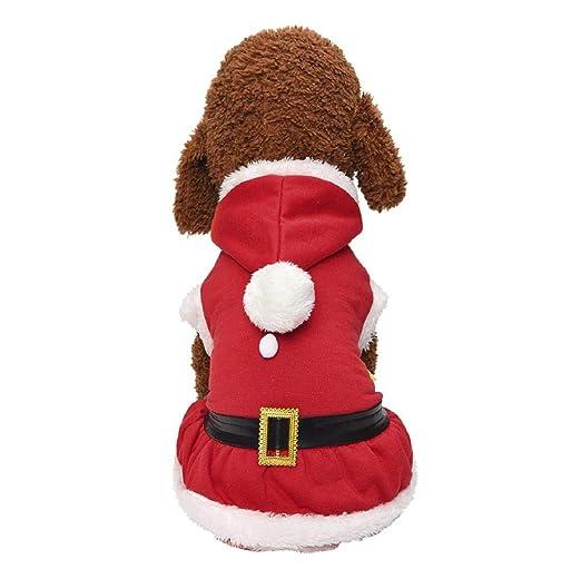 Koojawind Ropa para Perros De Navidad Perros Traje De ...