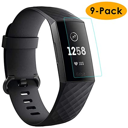 Amazon.com: KIMILAR [9 Pack] Compatible Fitbit Charge 3 ...