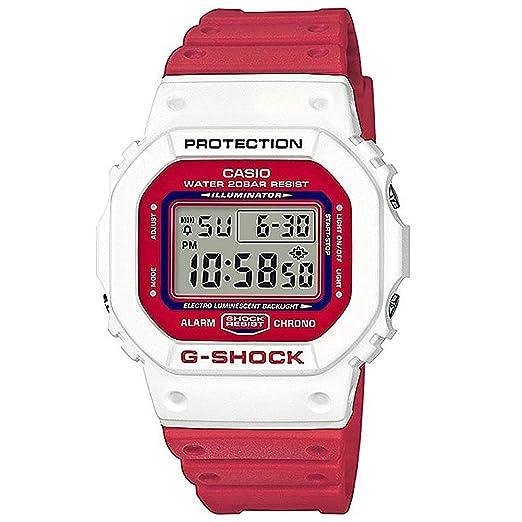 c80233c391b7 G-Shock Men s DW5600TB-4A Watch White  Amazon.co.uk  Watches