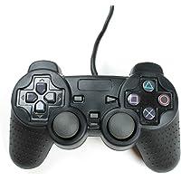 Playstation 2 Silikon Schutzhülle Controller Hülle für PS2 Schwarz