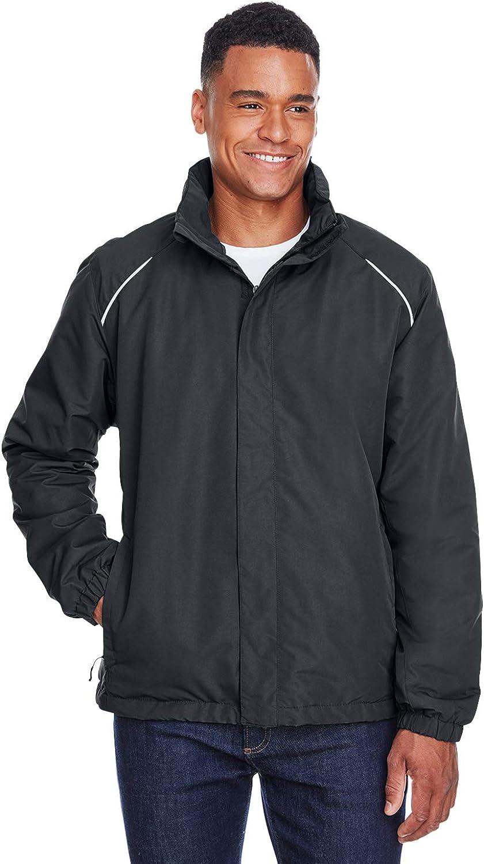 Ash City Mens Profile Fleece-Lined All-Season Jacket -CARBON 456-3XL 88224