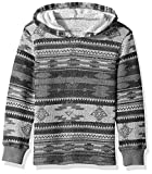 Lucky Brand Big Boys' Long Sleeve Pullover Hoody, Grey Heather, Medium (10/12)