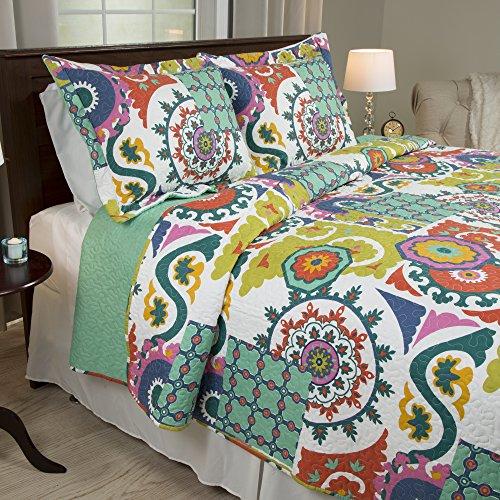 Lavish Home 2 Piece Sybil Quilt Set, Twin ()