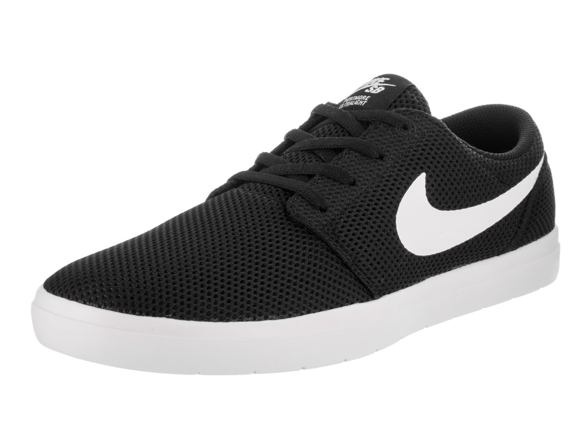 NIKE Men's SB Portmore II Ultralight Skate Shoe B009G4V4CE 14 D(M) US|Black/White