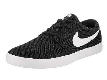 Nike SB Portmore II Ultralight, Chaussures de Skateboard garçon, Noir (Black/White