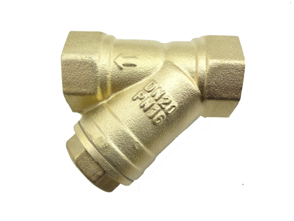 MISOL 10 pcs of 3/4'' (BSP, DN20) Brass Y Type Strainer Valve Connector Fitting