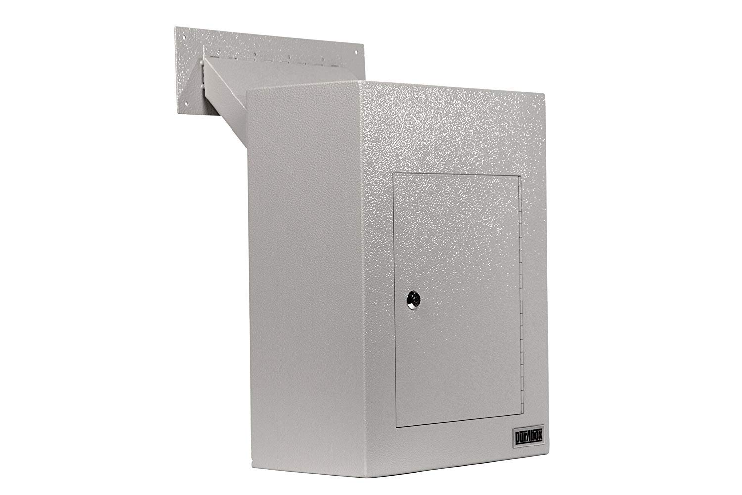 DuraBox D700 Through the Wall Drop Box w/ Adjustable Chute Deposit Safe Mail Box by DuraBox