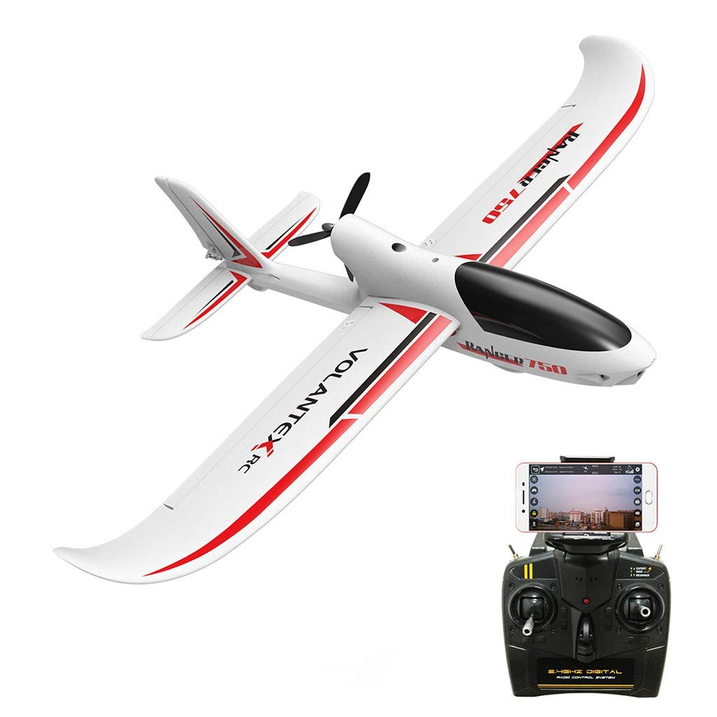 Hmlai Clearance Kid Toys Remote Control Plane Glider One Key Return Function by GPS 5G 720P WiFi Camera Airplane Transmitter (White) by Hmlai Clearance