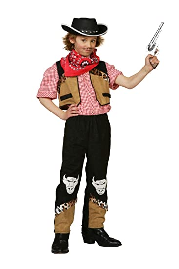 Western Kinder Kostum Buffel Cowboy Karneval Fasching Gr 104 Amazon