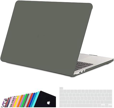 Oferta amazon: iNeseon Funda MacBook Pro 16 Pulgadas (Versión 2019 2020) con Touch Bar, Ultra Delgado Carcasa Protector Case Cover para Modelo A2141, Verde Medianoche