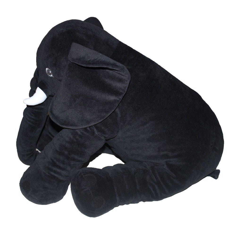 Beige sdtdia Baby Soft Plush Elephant Kids Lumbar Cushion Toy Large Size