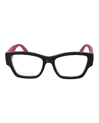 ceeddbfde00 Amazon.com  Eyeglasses Gucci GG 0104 O- 003 AVANA   PINK  Clothing