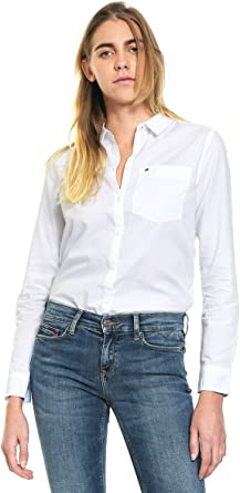 Tommy Hilfiger Regular Fit Blusa para Mujer
