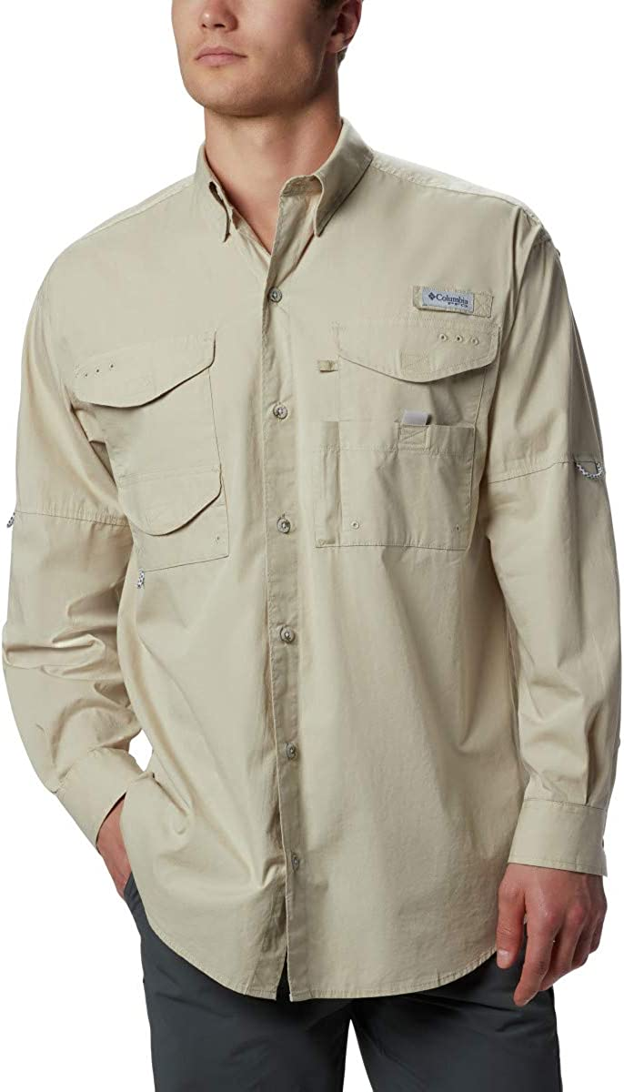 Columbia Mens PFG Bonehead Short Sleeve Shirt : Clothing