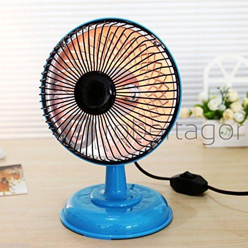 Mini Heater, Mini Chimenea Eléctrica Calefacción Para Escritorio 220W Calefactor Se Calienta Antena Parabólica