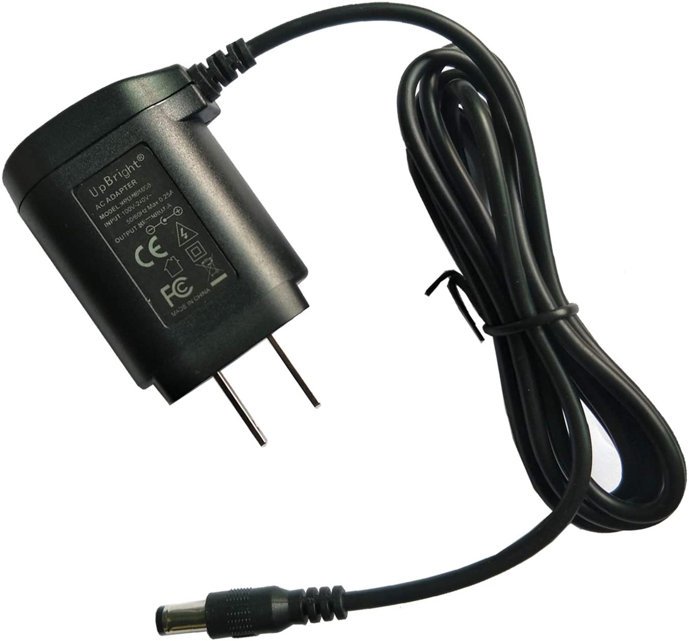 UpBright 5V AC Adapter Compatible with Black & Decker PD360 PD400LG CSD300T CSD300TP 3.6V DC Pivot Driver Drill UA-0402 5102970-19 90500898 90500896 UA050020 5102400-03 90530404 UA042010E Batt Charger