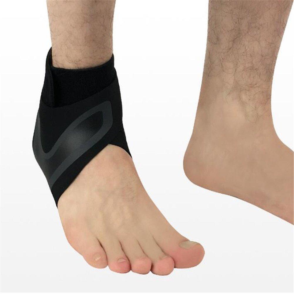 LanLan Protections Chevillères Sports Cheville Manches Extérieure Basketball Randonnée Protection Cheville Chaussettes Couverture XL [Right Foot]