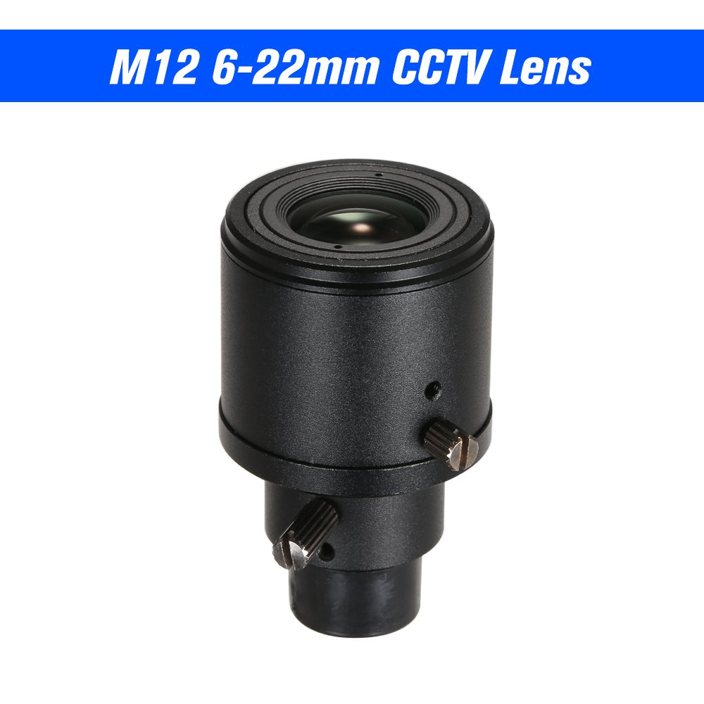1//3/'/' 9-22mm Zoom Manual Focus MTV CCTV Lens M12*0.5 F1.4 for Security IP Camera