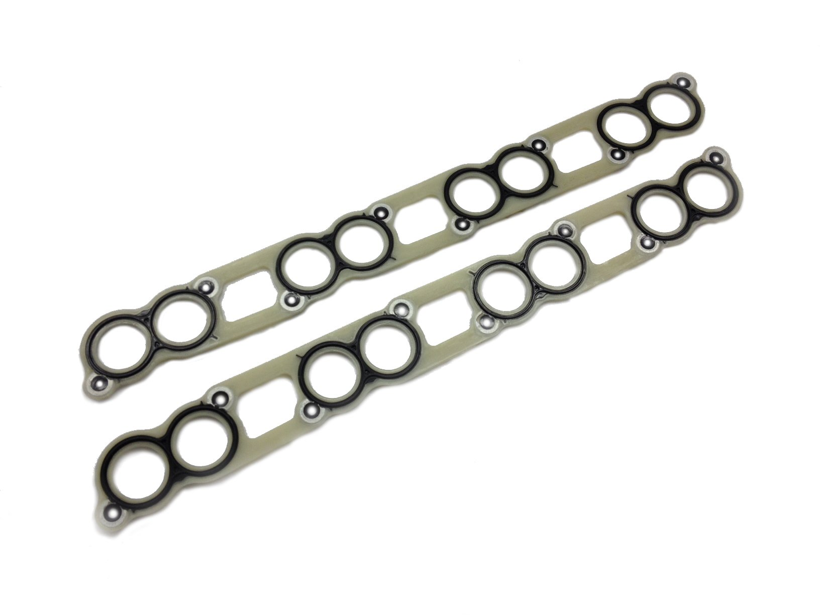 Ford 6.0L intake manifold gasket set for 2003 - 2007 Ford 6.0L Powerstroke diesel F250 F350 F450 F550 Excursion E-Series (Replaces Ford 3C3Z-9433-BJ; 3C3Z-9439-AA; 3C3Z-9T514-AG)