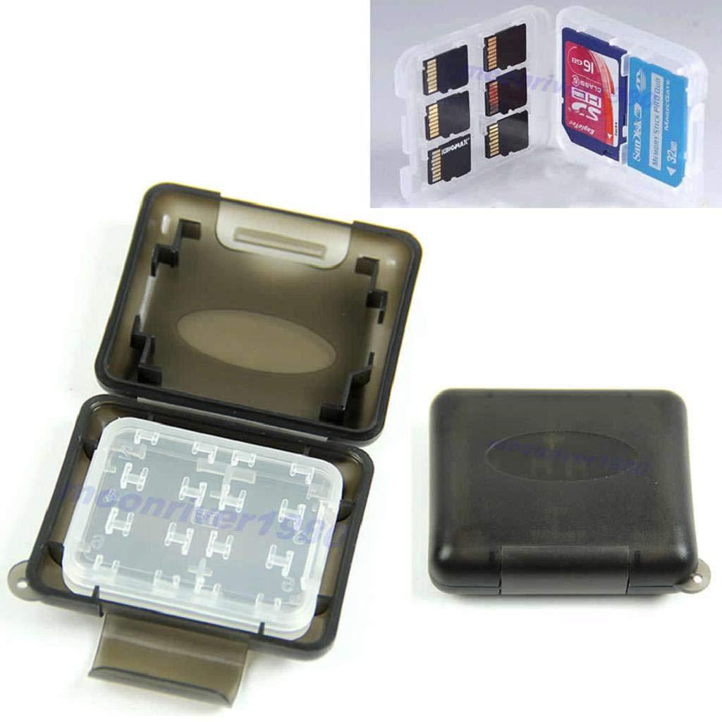 Baodanjiayou micro SD memory card TF Storage box Holder Protector custodia in plastica