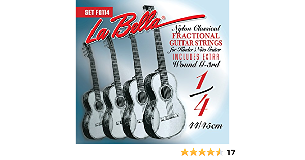 LaBella FG134 Classical Fractional Guitar 3//4 Size