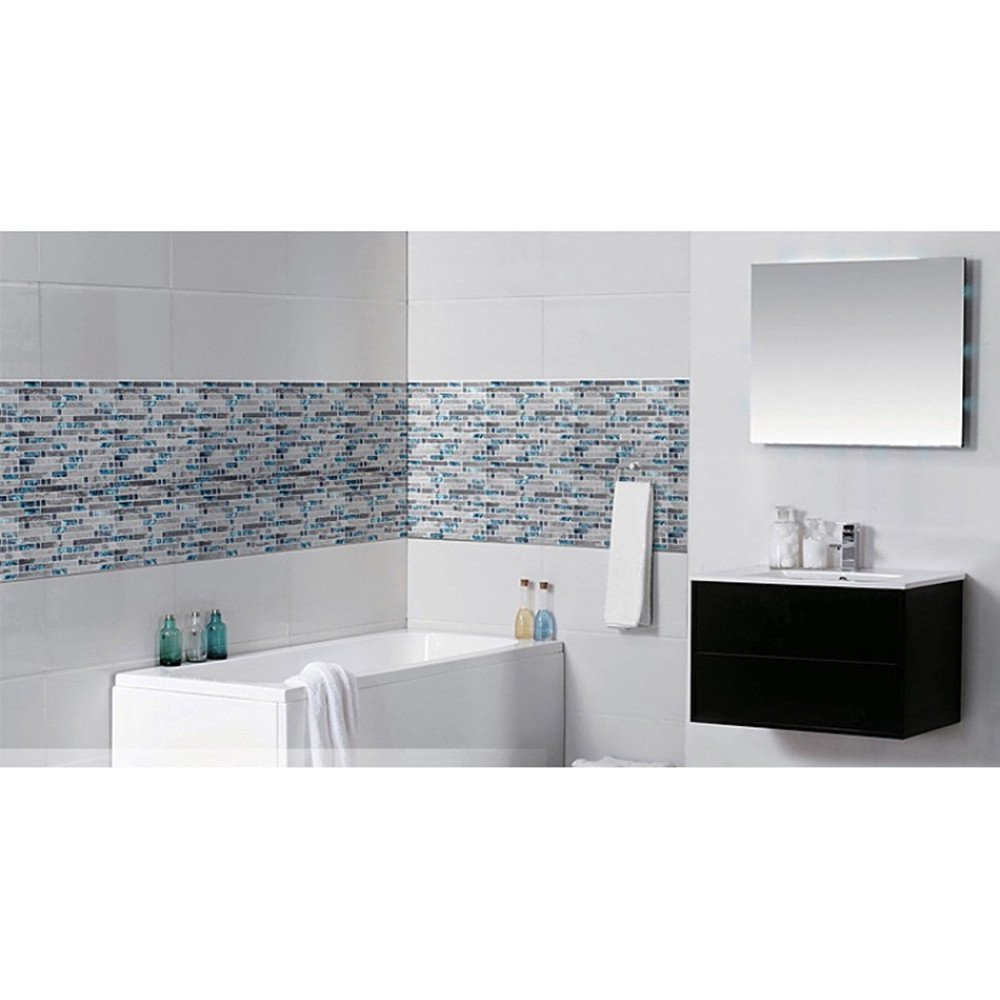 Amazon.com: Cocotik Peel and Stick Kitchen and Bathroom Tiles ...
