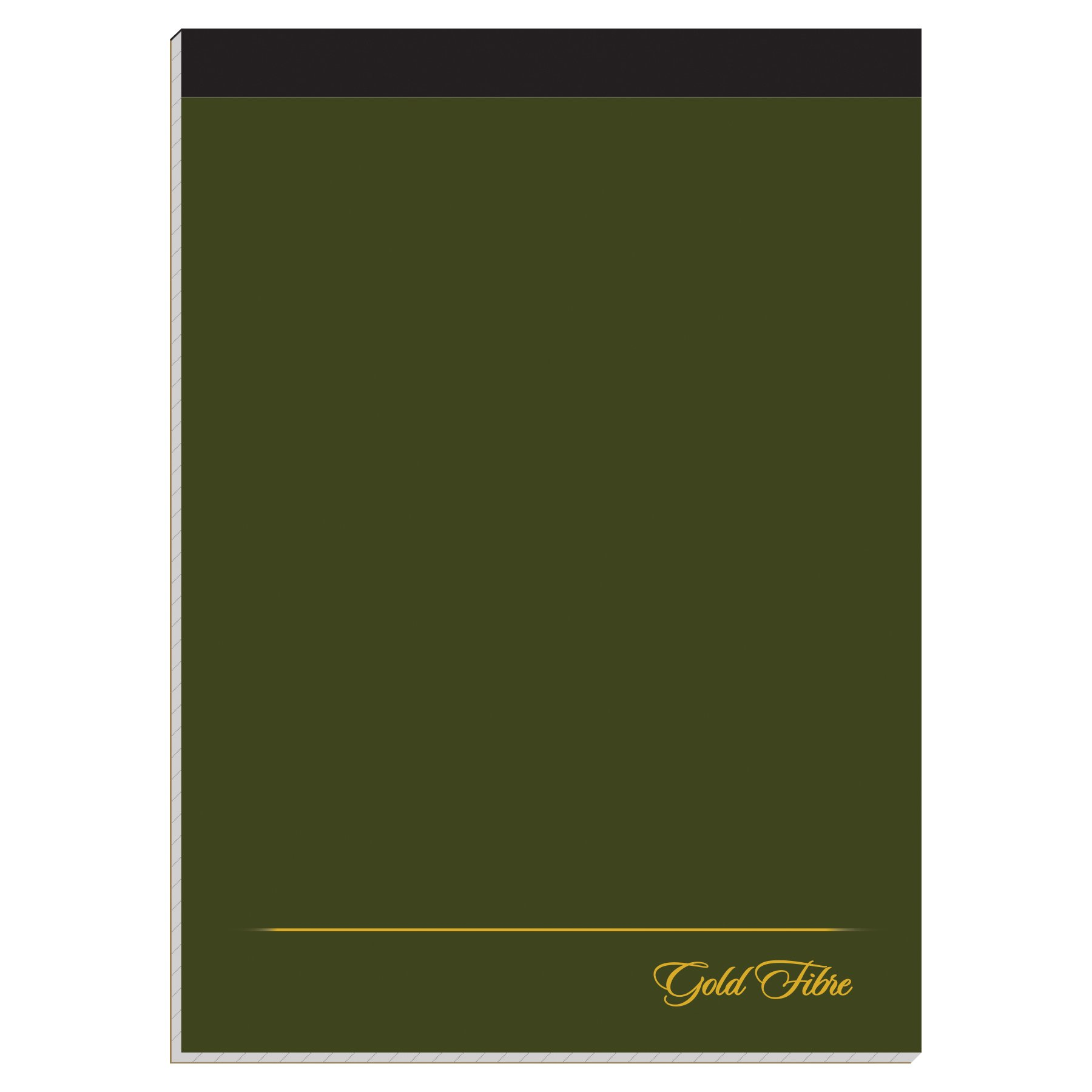 Ampad Gold Fibre Classic Planning Pad, Dark Green Cover, Quad Ruling, 80 Sheets per Pad (20-821)