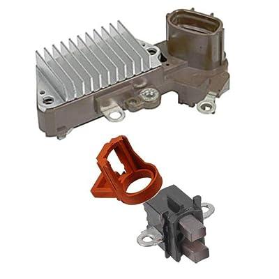 Alternator Rebuild Kit Compatible for 1997-1999 Tacoma 4Runner 2.4L 2.7L Regulator, Brushes: Automotive
