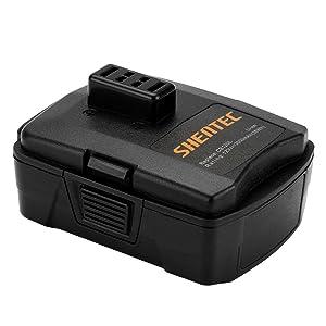 Shentec 3.0Ah 12V Battery Compatible with RYOBI CB120L CB121L BPL-1220 130503001 130503005, 12V Lithium Battery (NOT for CB120N)