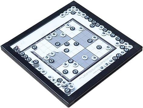 Sarahjers-Home Número de Juguete Número de Juguete Rompecabezas Sudoku Juego de Mesa magnética Sudoku Juego de ajedrez Matemáticas Lógica Juego de la Familia (Color : Black, Size : One Size): Amazon.es: Hogar