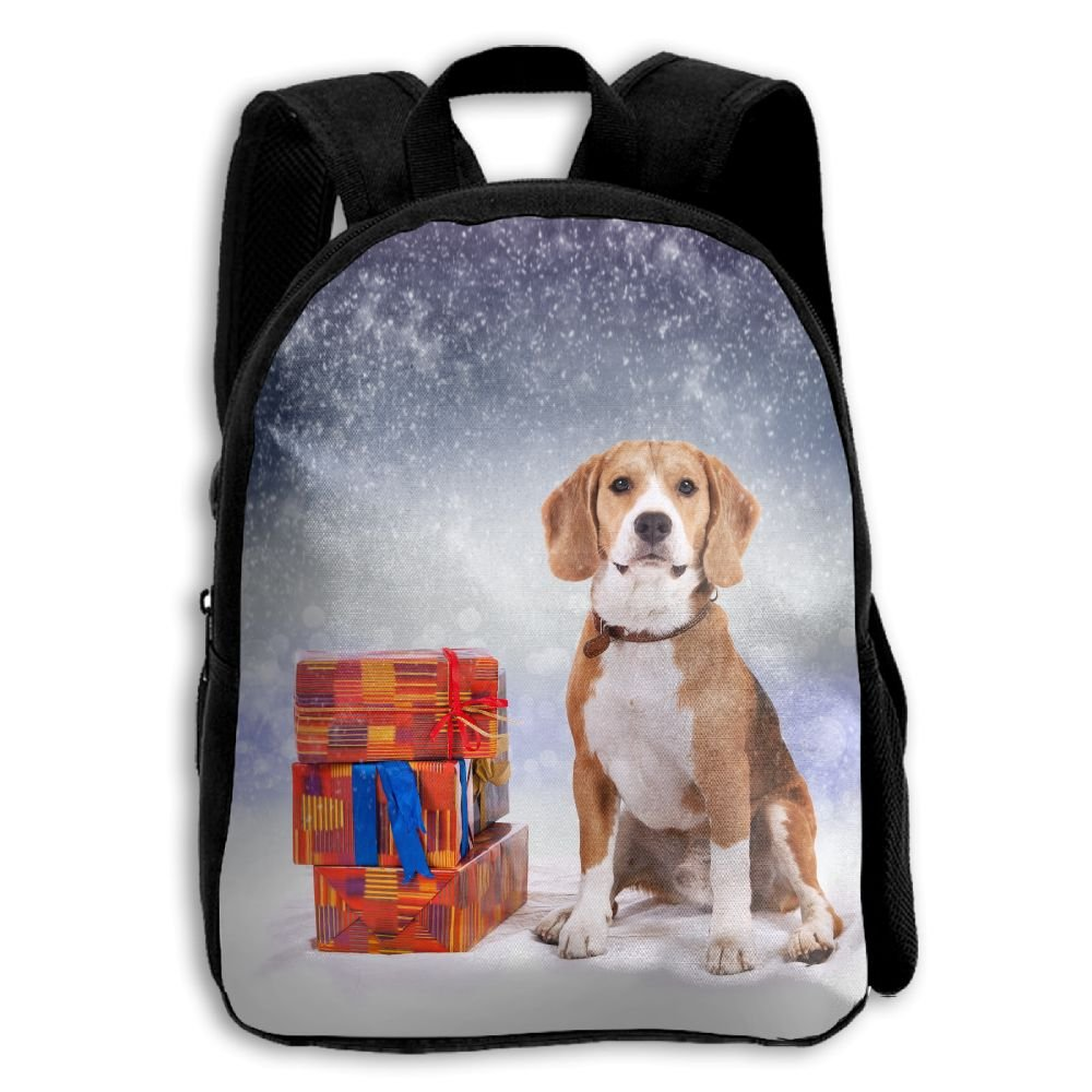 Liminビーグル犬Besideギフトボックスを印刷耐久性のKid 'sミニバックパック B07C72CWLG