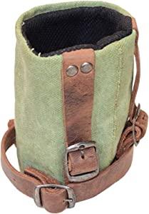 Hide & Drink, Cruzy Bike Handlebar Cup Holder, Insulated Pouch for Commuters, Minimalist Bikers, Cyclers, City Nomads, Urban Nomad Handmade Includes 101 Year Warranty :: Waxed Canvas