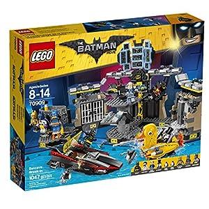LEGO BATMAN MOVIE Batcave Break-in 70909 Building Kit (1045 Piece) - 61jFDiYxsgL - THE LEGO BATMAN MOVIE Batcave Break-in 70909 Superhero Toy